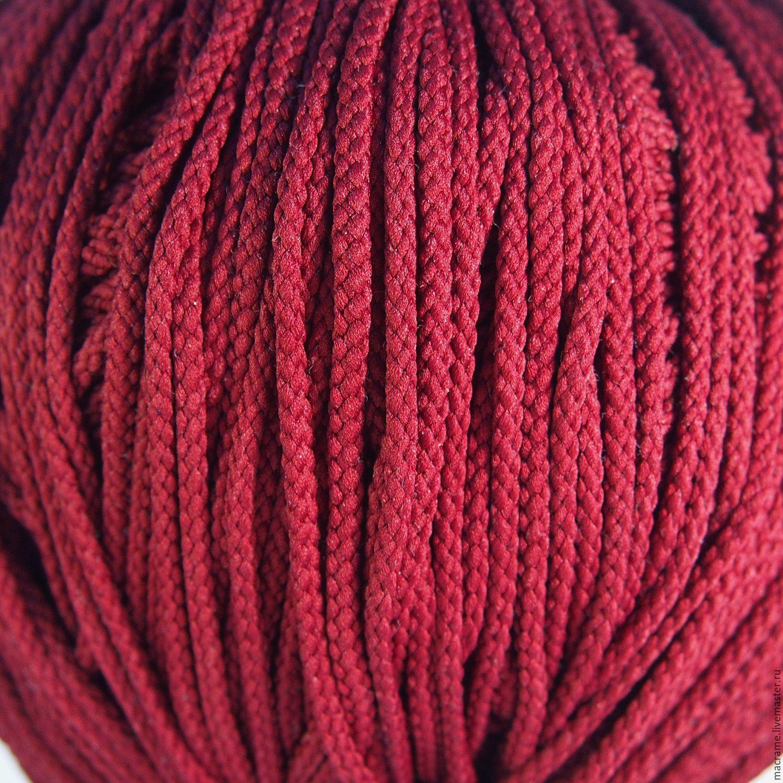 Шнур плетеный 5 мм