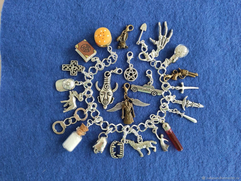 Браслет: Сверхъестественное браслет (24 кулона), Браслет для шармов, Москва,  Фото №1