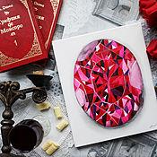 Картины и панно handmade. Livemaster - original item The Picture Of Rubin. Drawings, watercolors. Gemstone, red. Handmade.