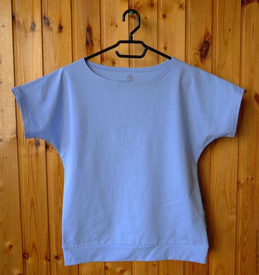Хлопковая дизайнерская футболка