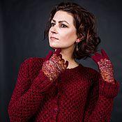 Одежда handmade. Livemaster - original item Knitted jacket