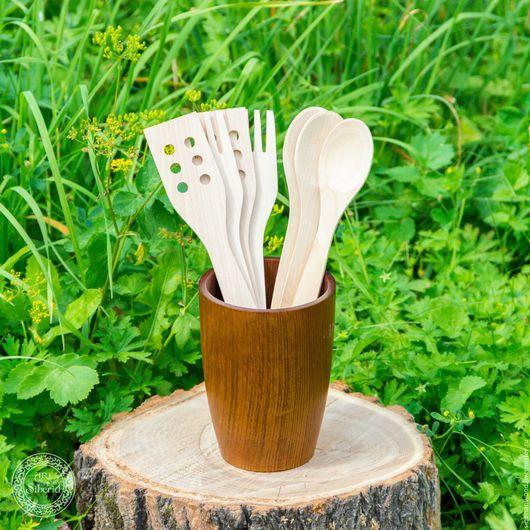 Кружки и чашки ручной работы. Ярмарка Мастеров - ручная работа. Купить Большой стакан из натурального дерева сибирский кедр подставка  #С5. Handmade.