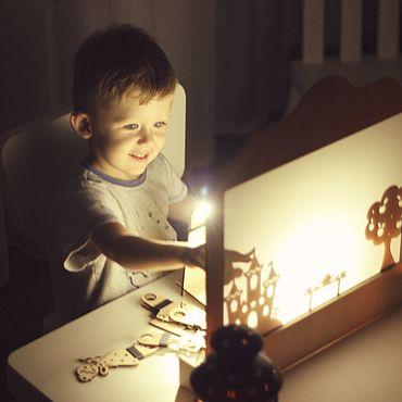 Куклы и игрушки ручной работы. Ярмарка Мастеров - ручная работа Ширма для театра теней Moon. Handmade.