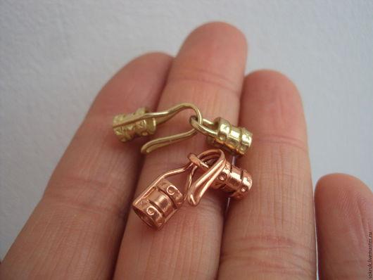 Для украшений ручной работы. Ярмарка Мастеров - ручная работа. Купить JBB. Концевики на шнур 3.5мм. Handmade. Золотой