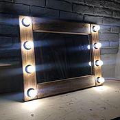 Для дома и интерьера ручной работы. Ярмарка Мастеров - ручная работа Макияжное подвесное зеркало LOFT ручной работы. Handmade.