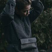 """Клатчи ручной работы. Ярмарка Мастеров - ручная работа Поясная сумка """"ven"""" / набедренная сумка / женский клатч. Handmade."""