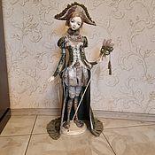 Кукольный театр ручной работы. Ярмарка Мастеров - ручная работа Кукольный театр: авторская кукла Колумбина. Handmade.