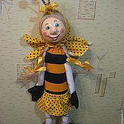 """Куклы и игрушки ручной работы. Ярмарка Мастеров - ручная работа кукла """" Пчёлка Маруся"""". Handmade."""