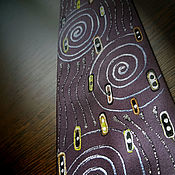 Аксессуары handmade. Livemaster - original item Klimt Militari Tie.. Handmade.