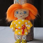 Мягкие игрушки ручной работы. Ярмарка Мастеров - ручная работа Домовенок. Handmade.