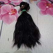 Волосы для кукол ручной работы. Ярмарка Мастеров - ручная работа Материалы: Волосы для кукол. Handmade.