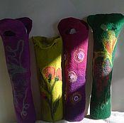 Подарки к праздникам ручной работы. Ярмарка Мастеров - ручная работа Упаковка на бутылку. Handmade.