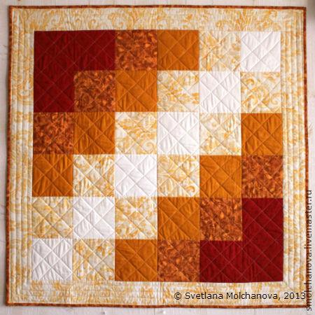 """Детская ручной работы. Ярмарка Мастеров - ручная работа. Купить Лоскутное одеяло """"Начало"""". Handmade. Лоскутное шитье, квилтинг"""