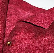 Одежда ручной работы. Ярмарка Мастеров - ручная работа Жакет куртка пиджак валяная Бургундия вишевая малиновая классика. Handmade.