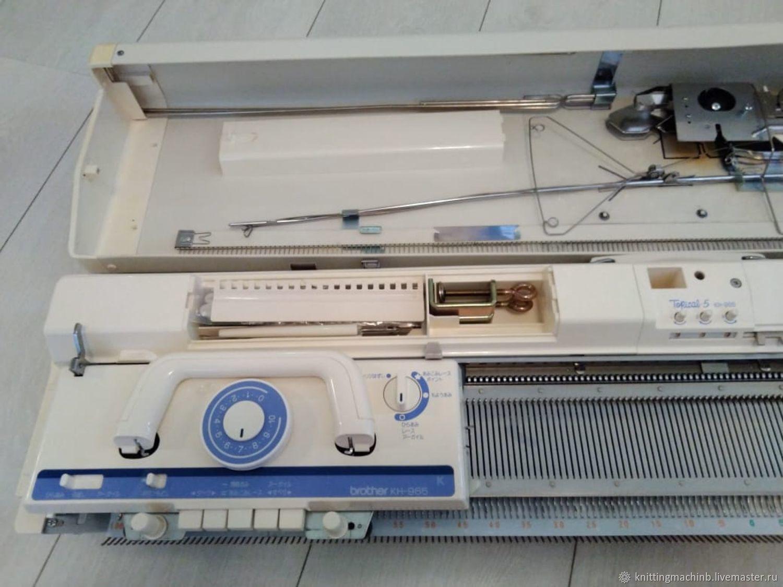 Вязальная машина Brother KH 965i / KR 850 Topical 5, Инструменты для вязания, Москва,  Фото №1