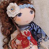 Куклы и игрушки ручной работы. Ярмарка Мастеров - ручная работа Текстильная кукла Ирма .. Handmade.