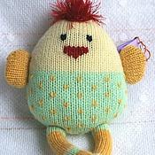 Куклы и игрушки ручной работы. Ярмарка Мастеров - ручная работа Цыпленок вязаный. Handmade.