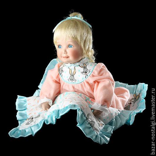 """Винтажные куклы и игрушки. Ярмарка Мастеров - ручная работа. Купить КУКЛА Коллекционная Кукла """"Some Bunny Loves You"""" Ashton Drake Фарфор. Handmade."""