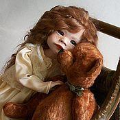 """Куклы и игрушки ручной работы. Ярмарка Мастеров - ручная работа """"Уронили мишку на пол..""""Шарнирная кукла Николь. Handmade."""