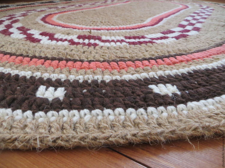 Вязание спицами ковер своими руками