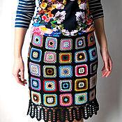 Одежда handmade. Livemaster - original item Skirt Color black. Handmade.