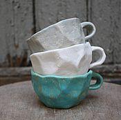 """Посуда ручной работы. Ярмарка Мастеров - ручная работа Кружка """"Каменный цветок"""". Handmade."""