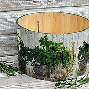 Для дома и интерьера handmade. Livemaster - original item Kitchen container bread box vase Herbs Linden wood. Handmade.