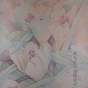 Картины и панно ручной работы. Ярмарка Мастеров - ручная работа Первые крокусы. Handmade.
