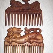 Гребни ручной работы. Ярмарка Мастеров - ручная работа Гребни деревянные для волос.. Handmade.