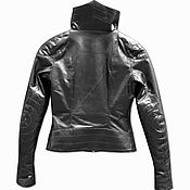 Одежда handmade. Livemaster - original item Jacket from thin cow leather. Handmade.