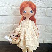 """Куклы и игрушки ручной работы. Ярмарка Мастеров - ручная работа Текстильная кукла """"Рукодельница"""". Handmade."""