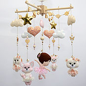 Работы для детей, handmade. Livemaster - original item Mobiles on the crib: