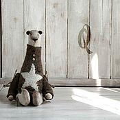 """Куклы и игрушки ручной работы. Ярмарка Мастеров - ручная работа Косолапый мишка """"Q"""". Handmade."""