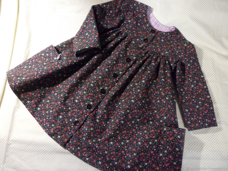 """Платье-рубашка для девочки хлопок """"Люси навсегда"""""""