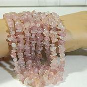 Материалы для творчества handmade. Livemaster - original item Tourmaline is a soft pink crumb. thread. Handmade.