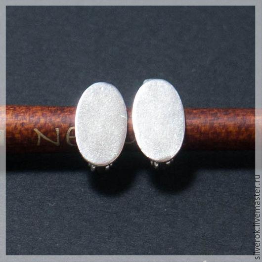 Для украшений ручной работы. Ярмарка Мастеров - ручная работа. Купить Швензы основа для серег  серебряная  925 пробы. Handmade.