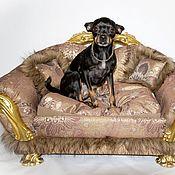 Для домашних животных, handmade. Livemaster - original item Couch for dogs or cats. The sofa bed is for dogs or cats. Handmade.