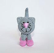 """Куклы и игрушки ручной работы. Ярмарка Мастеров - ручная работа Погремушка """"Кот"""". Handmade."""