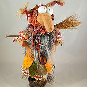 """Куклы и игрушки ручной работы. Ярмарка Мастеров - ручная работа Баба-Яга """"Утро в деревне"""". Handmade."""