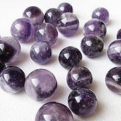 Материалы для творчества handmade. Livemaster - original item Natural amethyst beads. Handmade.