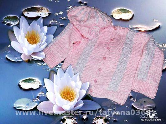 Одежда для девочек, ручной работы. Ярмарка Мастеров - ручная работа. Купить КОФТОЧКА И БЕРЕТ. Handmade.