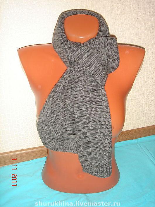 """Шарфы и шарфики ручной работы. Ярмарка Мастеров - ручная работа. Купить Шарф """"grey scarf"""". Handmade. Шарф, шарф шерстяной"""