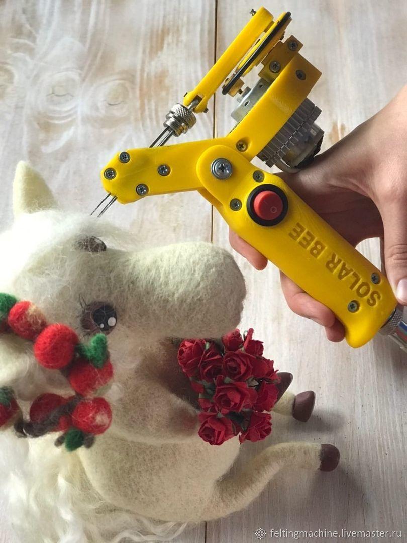 3 needle speed and handle adjustable, Felting tools, Krasnodar,  Фото №1