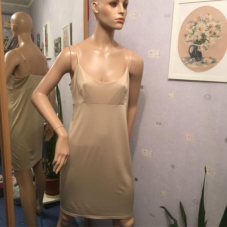 купить белую комбинацию под платье