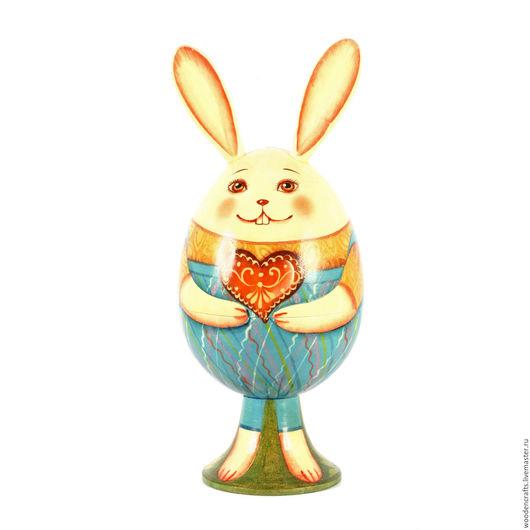 Подарки на Пасху ручной работы. Ярмарка Мастеров - ручная работа. Купить Заяц - шкатулка из липы. Handmade. Комбинированный, зайчик