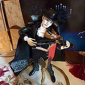 """Куклы и игрушки ручной работы. Ярмарка Мастеров - ручная работа кукла """"Призрак Оперы"""". Handmade."""