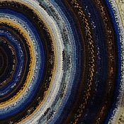 """Для дома и интерьера ручной работы. Ярмарка Мастеров - ручная работа Ковёр """"Космические вихри"""".. Handmade."""