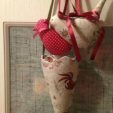 Куклы и игрушки ручной работы. Ярмарка Мастеров - ручная работа Новогодние кулечки на елку. Handmade.
