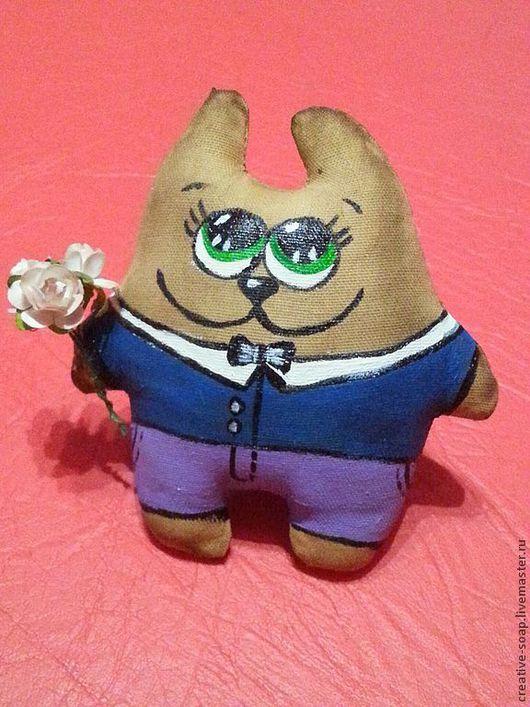 Ароматизированные куклы ручной работы. Ярмарка Мастеров - ручная работа. Купить Мартовский кот. Handmade. Игрушка ручной работы, игрушка