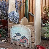 Для дома и интерьера ручной работы. Ярмарка Мастеров - ручная работа Короб для кухни(сибирский кедр). Handmade.